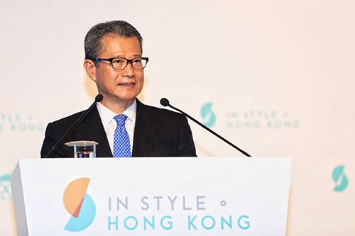 ông Paul Chan - Cục trưởng Tài chính Hong Kong (HKSAR)