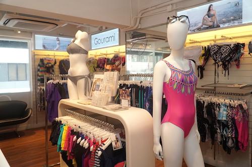 Cửa hàng Gourami nằm tại con phố kinh doanh đắt đỏ tại Wan Chai, Hong Kong.