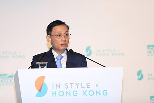 Ông Lê Hoài Trung - Thứ trưởng Ngoại giao phát biểu tại sự