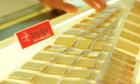 Giá vàng sụt giảm đầu tuần