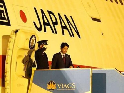 VIAGS Phục vụ chuyên cơ Thủ tướng Nhật Bản tại Hội nghị APEC 2017.