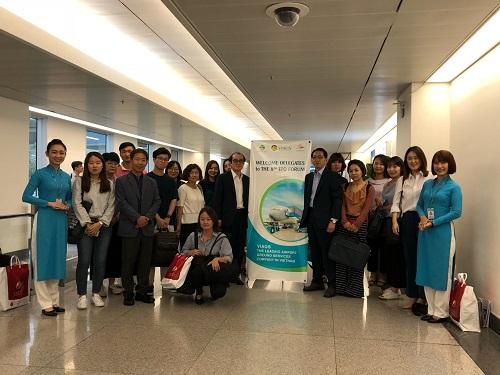 VIAGS đón tiễn Đoàn đại biểu đến tham dự Diễn đàn Tổ chức xúc tiến du lịch các thành phố châu Á - Thái Bình Dương lần thứ 8 năm 2018 (TPO)
