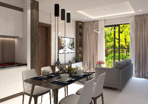 Chủ đầu tư bàn giao các căn hộ Bcons - Suối Tiên hoàn thiện. Khách mua tự trang trí nội thất theo gu thẩm mỹ và phong cách của mình.
