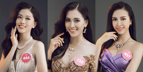 Top 3 Hoa hậu Việt Nam 2018 tỏa sáng cùng trang sức ngọc trai Long Beach Pearl.
