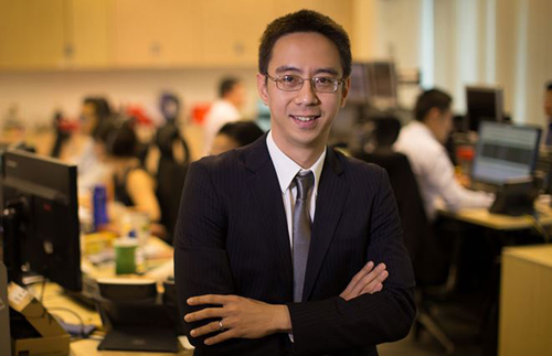 Ông Ngô Đăng Khoa - Giám đốc khối nguồn vốn và kinh doanh tiền tại Ngân hàng HSBC Việt Nam.