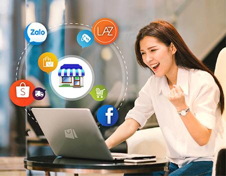 Phần mềm bán hàng giúp các chủ hàng trực tuyến gia tăng kết nối với khách hàng và tiết kiệm chi phí.