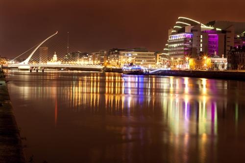 Thủ đô Dublin của Ireland về đêm. Ảnh: Love In Dublin