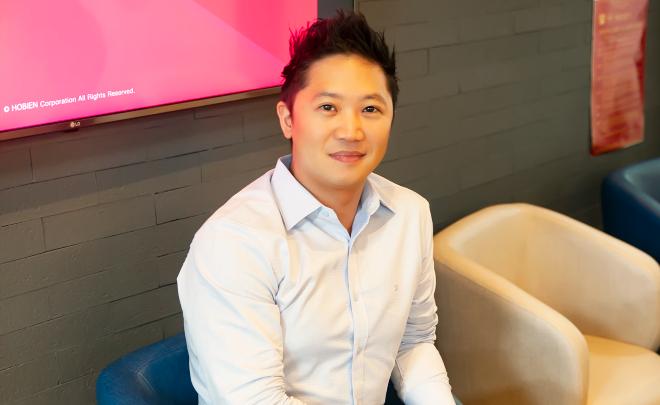 David Yoon - CEO Hô Biến. Ảnh: NVCC.