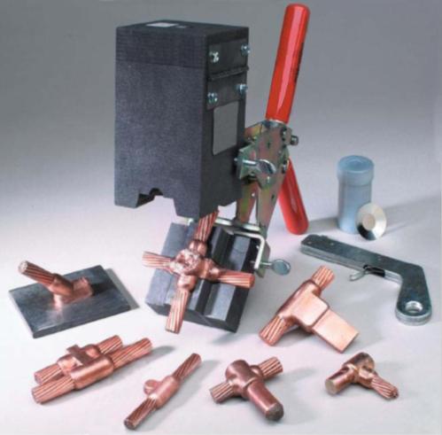 Sản phẩm hàn hóa nhiệt của Công ty Cát Vạn Lợi.