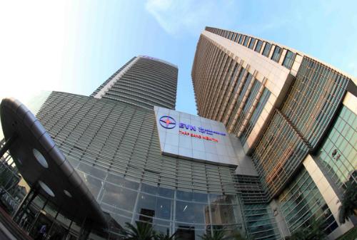 Trụ sở Tập đoàn Điện lực Việt Nam, một trong 7 tập đoàn được chuyển về quản lý tại siêu uỷ ban.