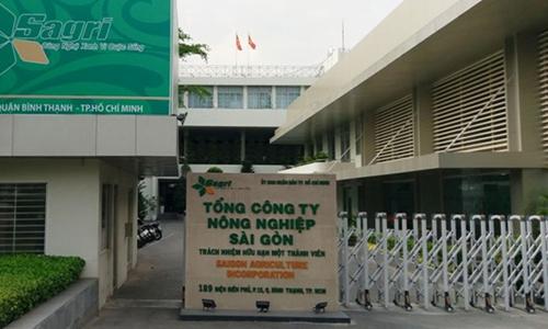 Tổng công ty Nông nghiệp Sài Gòn. Ảnh: Sagri.