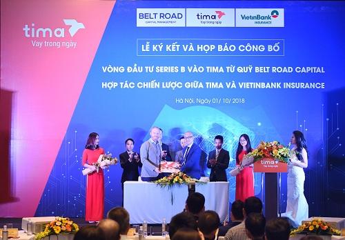 Tima vừa nhận thêm 3 triệu USD từ Belt Road Capital Management.