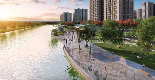 Đại đô thị VinCity được xây dựng theo mô hình chuẩn Singapore