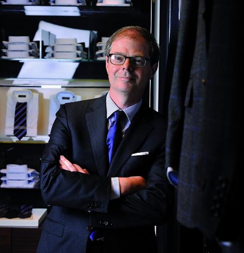 Ông Paolo Canali - Giám đốc Kinh doanh Canali.