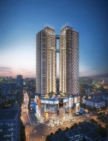 Phối cảnh dự án căn hộ hạng sang Alpha City.