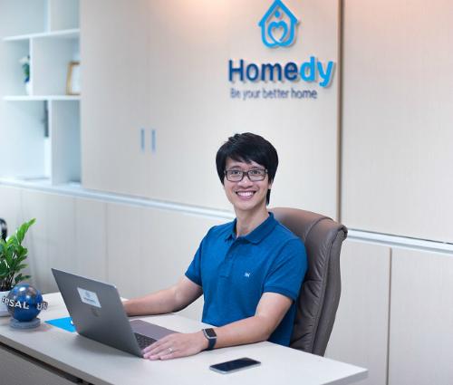 CEO Nguyễn Bá Đứccủa startup Homedy: Giải thưởng trong cuộc thi Startup Việt là động lực giúp Homedy không ngừng nỗ lực thay đổi để đem lại những giá trị tốt hơn cho cộng đồng và khách hàng.