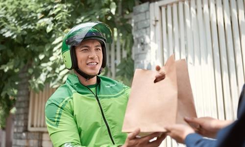 Dịch vụ giao đồ ăn được Grab chính thức triển khai tại Hà Nội từ tháng 10.