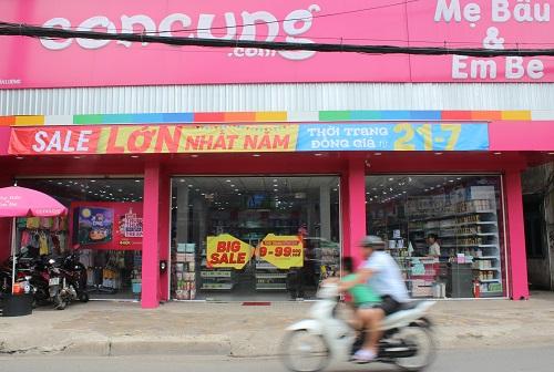 Một cửa hàng thuộc hệ thống của Con Cưng tại TP HCM. Ảnh: Phương Đông