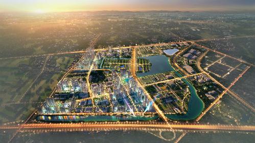 Các dự án VinCity có quy mô hàng trăm hecta.