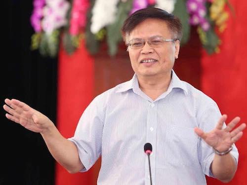 Ông Nguyễn Đình Cung - Viện trưởng Viện Quản lý kinh tế trung ương.