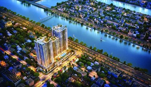 Viva Riverside tọa lạc tại vị trí mặt tiền đại lộ Võ Văn Kiệt, Phường 3, quận 6, TP HCMthuận lợi về giao thông.