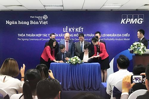 ký kết Thỏa thuận hợp tác tư vấn xây dựng mô hình phân tích lợi nhuận đa chiều với Công ty TNHH Thuế và Tư vấn KPMG.