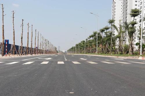 Đường trục phía Nam Hà Tây có chiều dài 41,5 km, mặt cắt ngang 40m, gồm 4 làn xe, tốc độ thiết kế 60 km/h. Dự án chạy qua địa phận 23 xã, thuộc các quận Hà Đông, huyện Thanh Oai, huyện Ứng Hòa, huyện Phú Xuyên. Điểm đầu tuyến đường tiếp giao đường Phúc La - Văn Phú (Kiến Hưng, Hà Đông). Điểm cuối tiếp giao Quốc lộ 1A - đoạn phía dưới cầu Giẽ (Châu Can, Phú Xuyên).