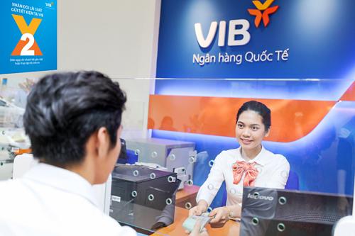 VIB hiện là một trong những ngân hàng có mức lãi suất tiền gửi hấp dẫn nhất trên thị trường.