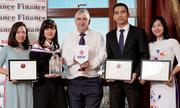 BIDV nhận 3 giải thưởng quốc tế