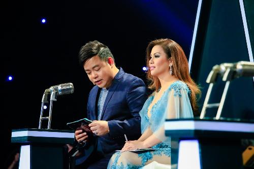 Quang Lê tỏ ra thích thú với sáng tác mới của nhạc sĩ Minh Vy