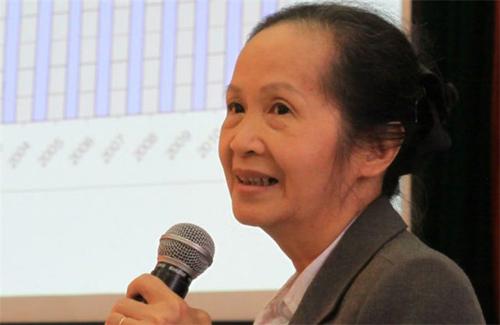 Bà Phạm Chi Lan - nguyên Chủ tịch VCCI.
