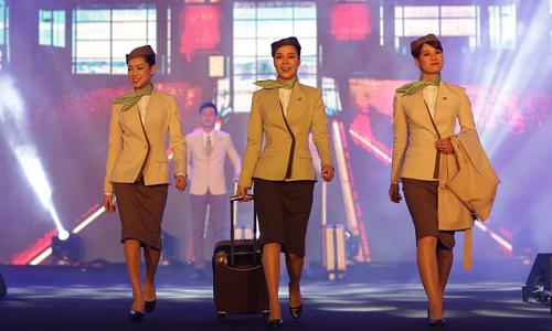 Bamboo Airways đã tuyển dụng, đào tạo được 300 tiếp viên.