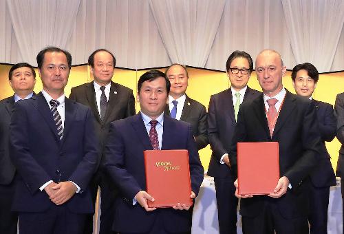 Vietjet Air vừa kỳ hàng loạt thỏa thuận với các ngân hàng ngoại.