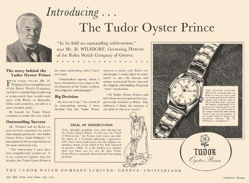 Vài thập kỷ phát triển, các dòng đồng hồ của Tudor được nhiều nhà sưu tập ưu thích. Mỗi sản phẩm đều