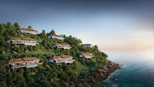 Khu biệt thự Banyan Tree Residences Lăng Cô với địa thế tựa sơn nghinh thủy thu hút các nhà đầu tư bất động sản trong và ngoài nước.