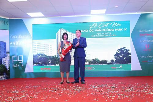 Cất nóc tòa cao ốc văn phòng Park IX gần sân bay Tân Sơn Nhất - 1