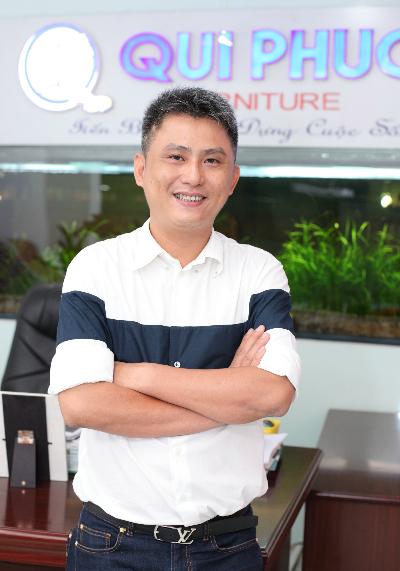 Anh Nguyễn Thanh Hải - GĐ Công ty TNHH Qui Phúc.