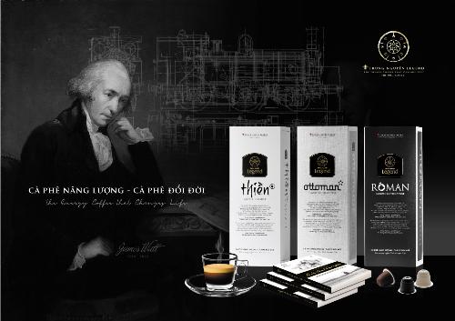 Trung Nguyên Legend tiếp tục giới thiệu dòng sản phẩm cà phê viên nén (Capsule) với ba hương vị: Roman, Ottoman và Thiền đặc biệt, khác biệt