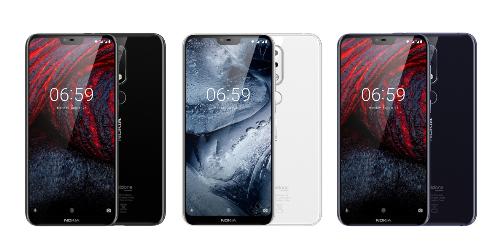 Nokia 6.1 Plus được bảo vệ bởi mặt kính cả sau lẫn trước.