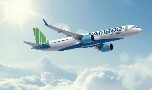 Chuyến bay thương mại đầu tiên của hãng hàng không Tập đoàn FLC dự kiến sải cánh vào cuối quý IV năm 2018. Ảnh: Bamboo Airways.