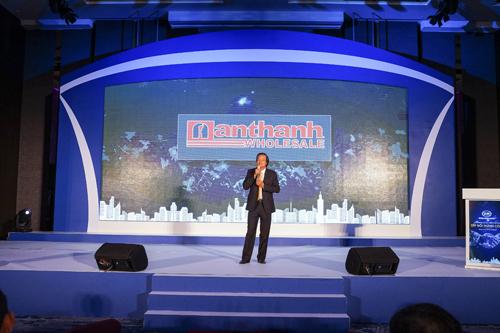 CEO Vũ Văn Lâm tại hội nghị khách hàng VIP năm 2018 do BMP tổ chức tại Đài Bắc
