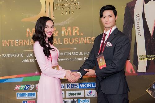 Cuộc thi hướng đến kết nối các doanh nhân, doanh nghiệp Việt - Hàn, văn hóa giữa hai nước, đề cao tinh thần giao lưu, hợp tác quốc tế. Ảnh: Nhung Tran Media.