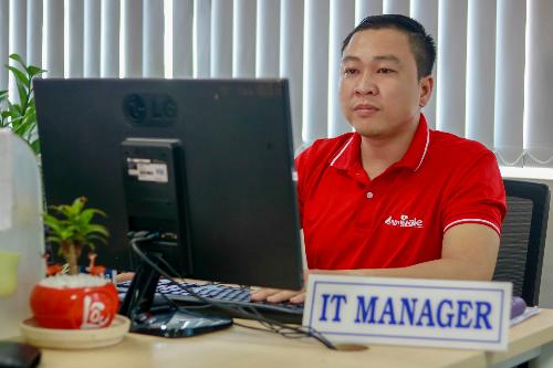 Ông Võ Trung Hiếu, Giám đốc sản phẩm công ty Polaris Việt Nam