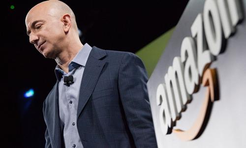 Ông chủ Amazon - Jeff Bezos hiện là người giàu nhất thế giới. Ảnh: AFP