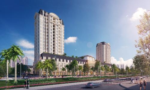 Dự án 600 tỷ The Manor Crown Tower hút khách Huế dịp mở bán