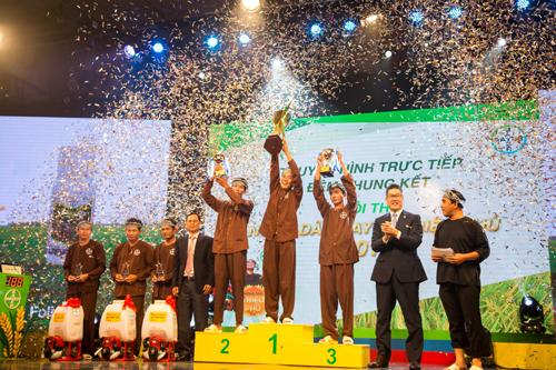 Lễ trao giải chung cuộc hội thi Nông dân Bayer triệu phú.