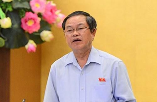 Phó chủ tịch Quốc hội Đỗ Bá Tỵ. Ảnh: Quochoi.vn