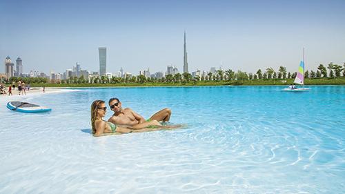 Biển hồ nhân tạo ở Dubai,