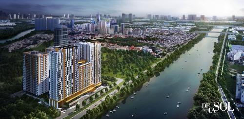 Dự án căn hộ De La Sol với chủ đầu tư là CapitaLand - nhà đầu tư với phương châm sống tận dành cho khách hàng: tận tâm - tận tình - tận hưởng.