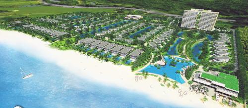 Phối cảnh tổng quan dự án Mélia Hồ Tràm at The Hamptons.
